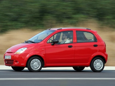 GROUP A: CHEVROLET MATIZ CABRIO